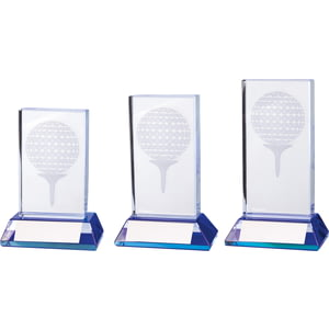 Davenport Golf Crystal Award